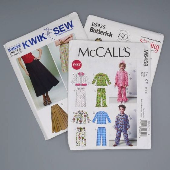 DRESSMAKING AND SEWING PATTERNS