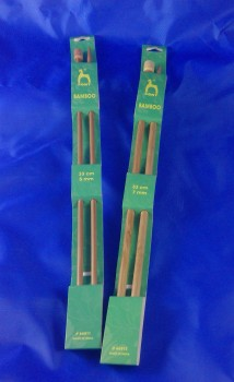 PONY BAMBOO KNITTING NEEDLES
