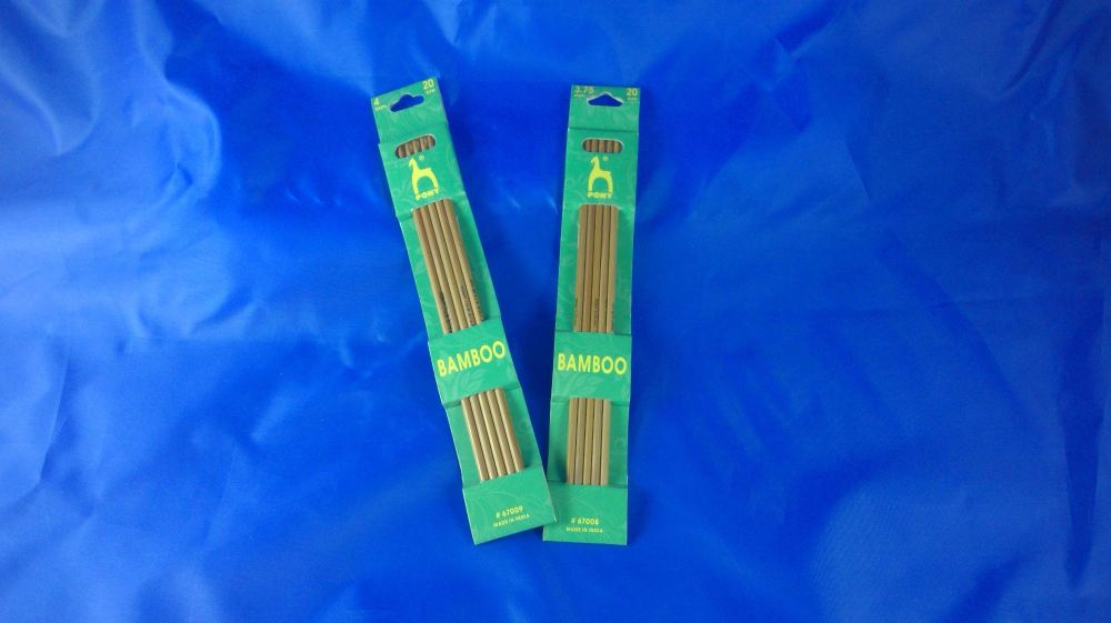 DOUBLE ENDED BAMBOO KNITTING NEEDLES