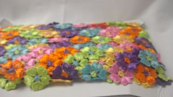 DAISY TRIM MULTI COLOURED