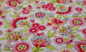 FLOWER PRINT 100% COTTON