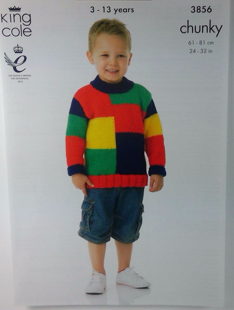 BOYS SWEATERS, KING COLE 3856