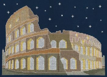 AGRA BY NIGHT COUNTED CROSS STITCH KIT