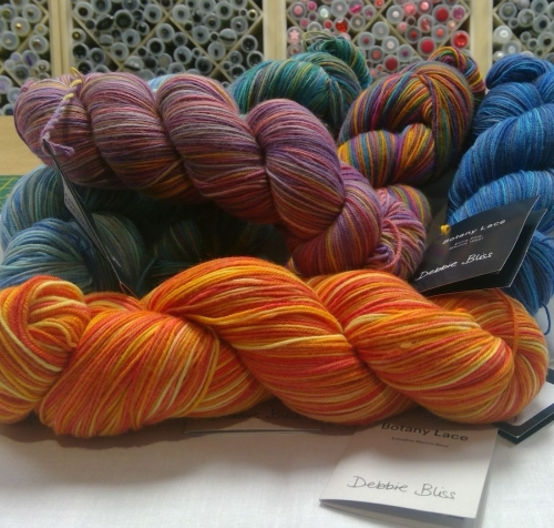 DEBBIE BLISS BOTANY LACE A FINE LIGHT LUXURY YARN