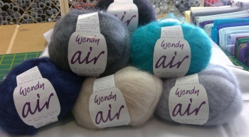 AIR BY WENDY A FINE LIGHT LACE  WEIGHT YARN