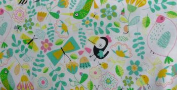 KATIA CAMP BIRDS POPLIN