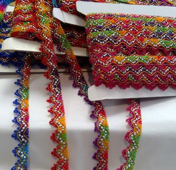 MULTI COLOURED TRIM