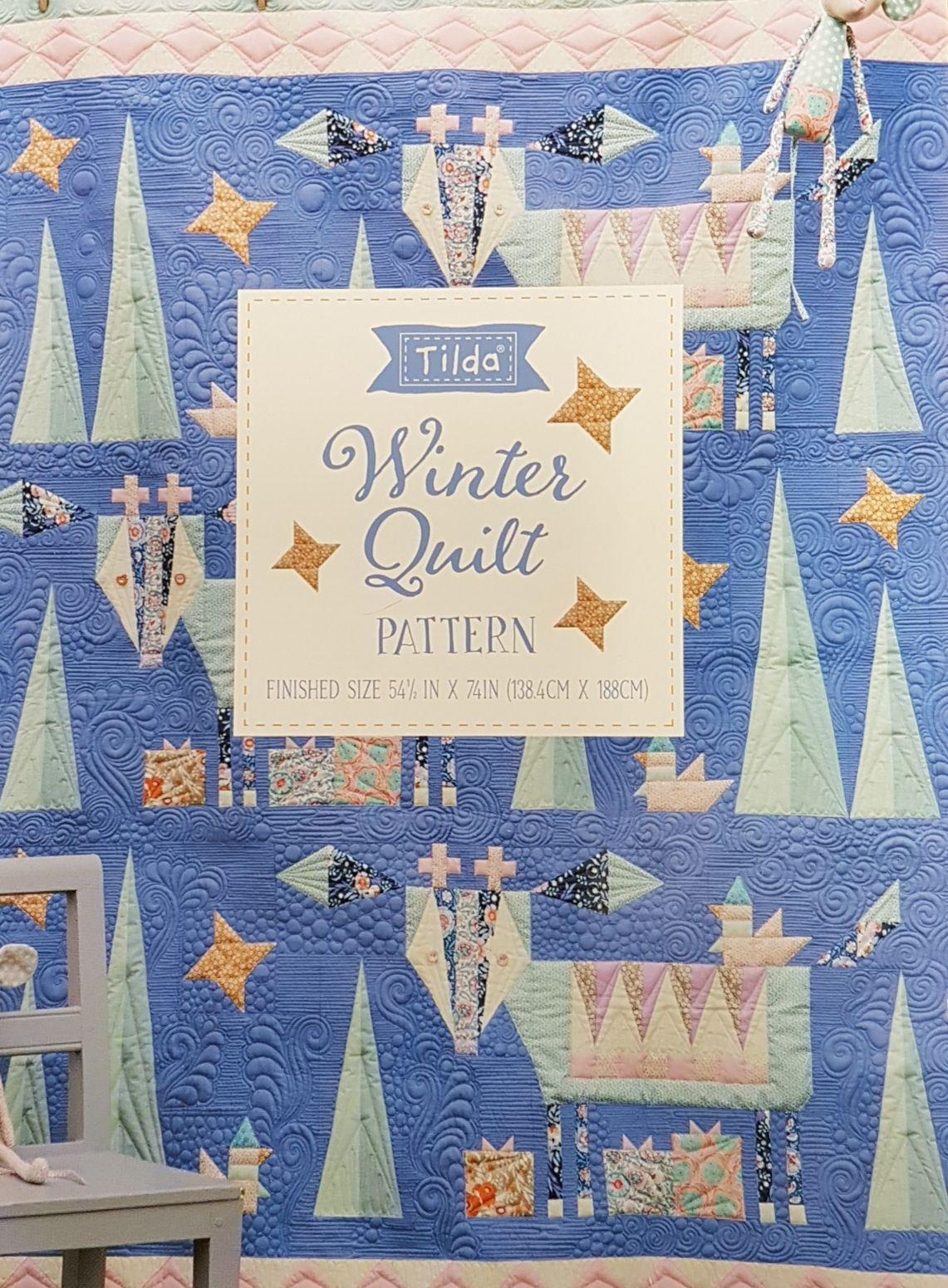 TILDA WINTER QUILT SEWING PATTERN