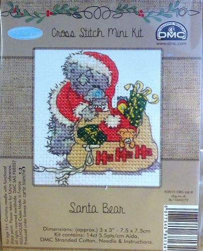 DMC ME TO YOU 'SANTA BEAR' MINI KIT