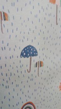 KATIA MINT GREEN CHILDREN'S RAIN WATERPROOF FABRIC