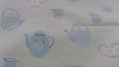Gutermann Ring A Roses Summer Loft teapots 100% cotton range