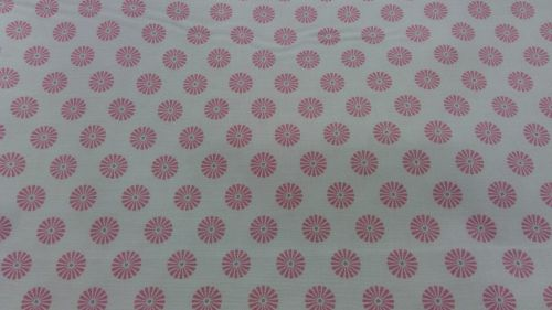 Gutermann Ring A Roses Summer Loft cream and pink flower 100% cotton range
