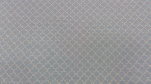 Gutermann Ring A Roses Summer Loft baby blue trellis 100% cotton range