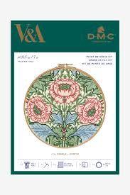 V&A DMC CROSS STITCH -MYRTLE
