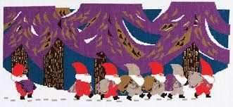 DMC JERRY ROUPE COLLECTION-'TOMTE PARADE'