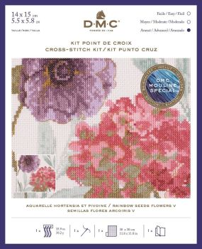 DMC- 'RAINBOW SEED FLOWERS V'