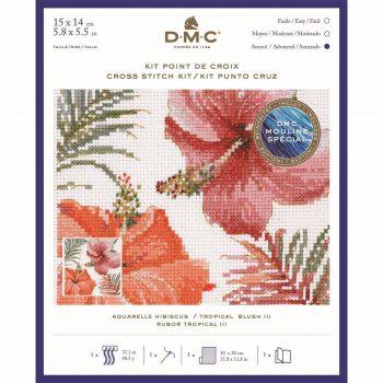 DMC- 'TROPICAL BLUSH III'