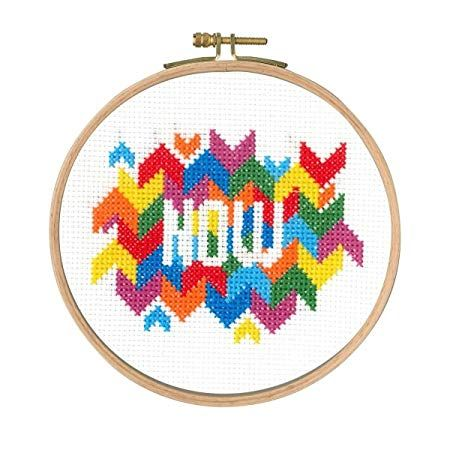 DMC MINDFUL MOMENTS CROSS STITCH KIT-'NOW'