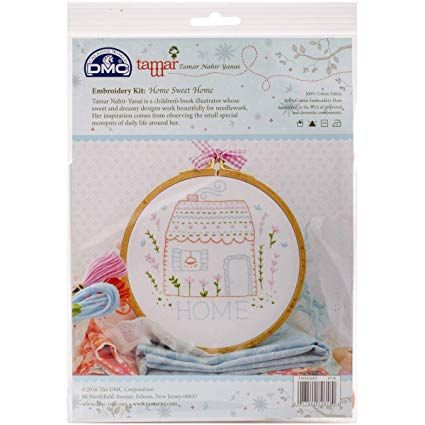 DMC TAMAR EMBROIDERY  KIT- 'HOME SWEET HOME'