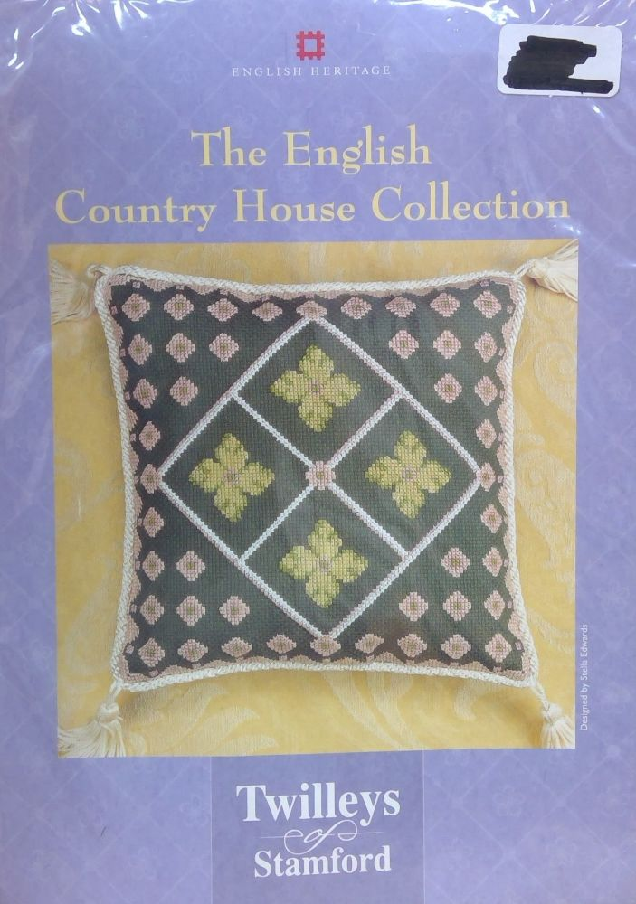 TWILLEYS OF STAMFORD CROSS STITCH -ENGLISH HERITAGE COUNTRY HOUSE COLLECTIO