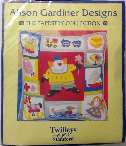 TWILLEYS OF STAMFORD- PRINTED TAPESTRY- ALISON GARDINER DESIGNS- 'CHILDRENS