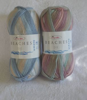 BEACHES by KING COLE,  THE GO TO  SUMMER YARN SOFT AND LIGHT