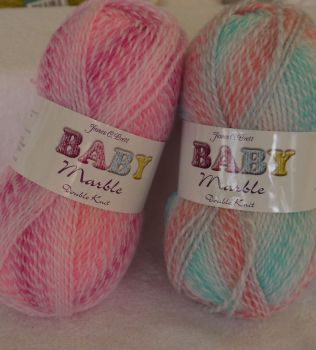 JAMES C BRETT BABY MARBLE DOUBLE KNIT