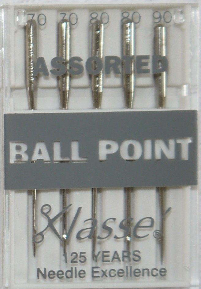 BALLPOINT  MACHINE NEEDLES  ASSORTED