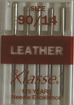 LEATHER MACHINE NEEDLES  90/14