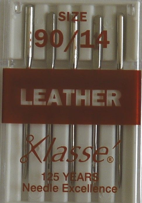 LEATHER MACHINE NEEDLES  90/14