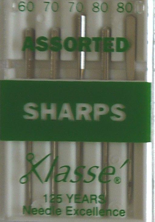 SHARPS MACHINE NEEDLES ASSORTED