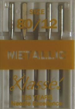 EMBROIDERY / METALLIC MACHINE NEEDLES  80/12