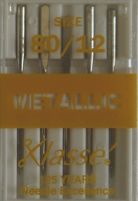 EMBROIDERY / METALLIC MACHINE NEEDLES  80/12