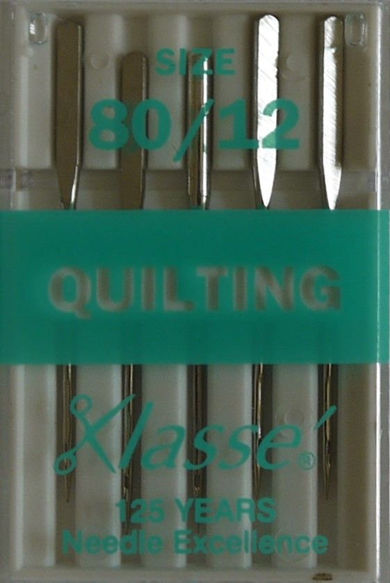 QUILTING MACHINE NEEDLES 80/12