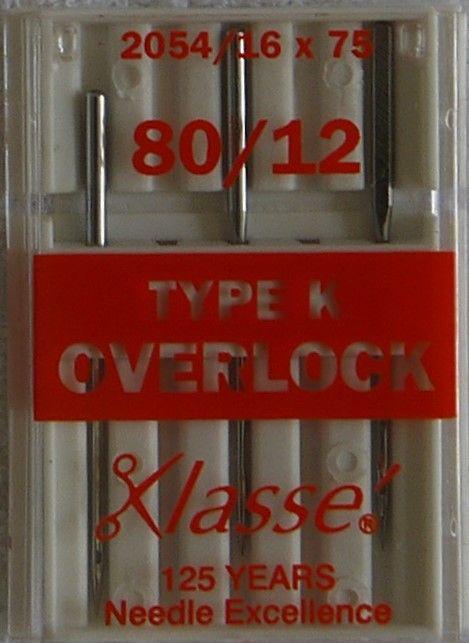 OVERLOCKER NEEDLES K
