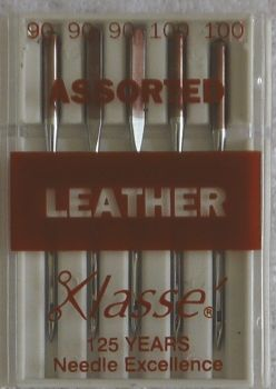 LEATHER MACHINE NEEDLES ASSORTED