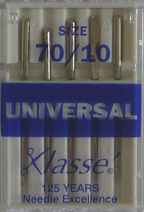 UNIVERSAL MACHINE NEEDLES  70/10