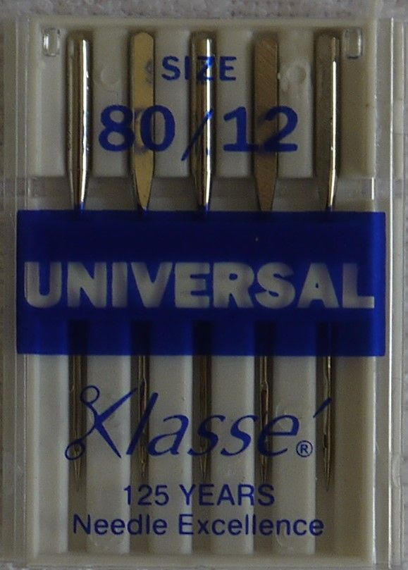 UNIVERSAL MACHINE NEEDLES  80/12