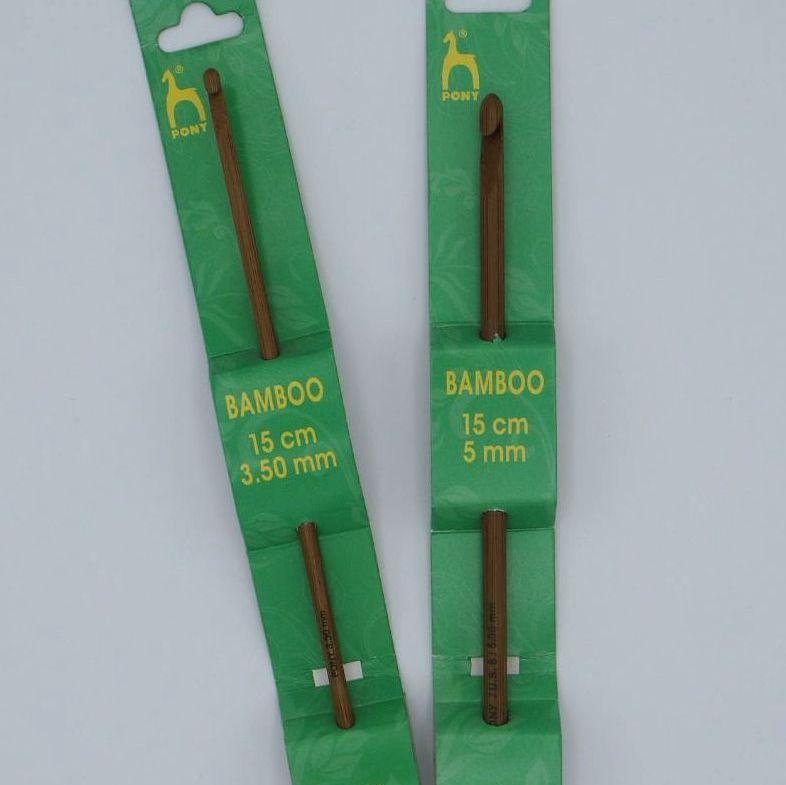 PONY BAMBOO CROCHET HOOKS