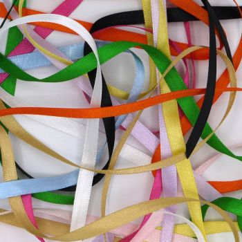 DOUBLE SIDED SATIN RIBBON  7MM