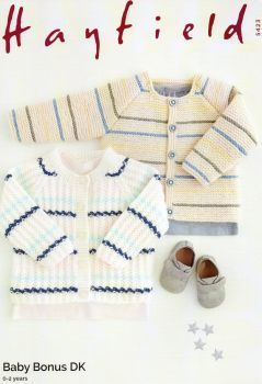 5423 -CARDIGANS BY HAYFIELD IN DOUBLE KNIT