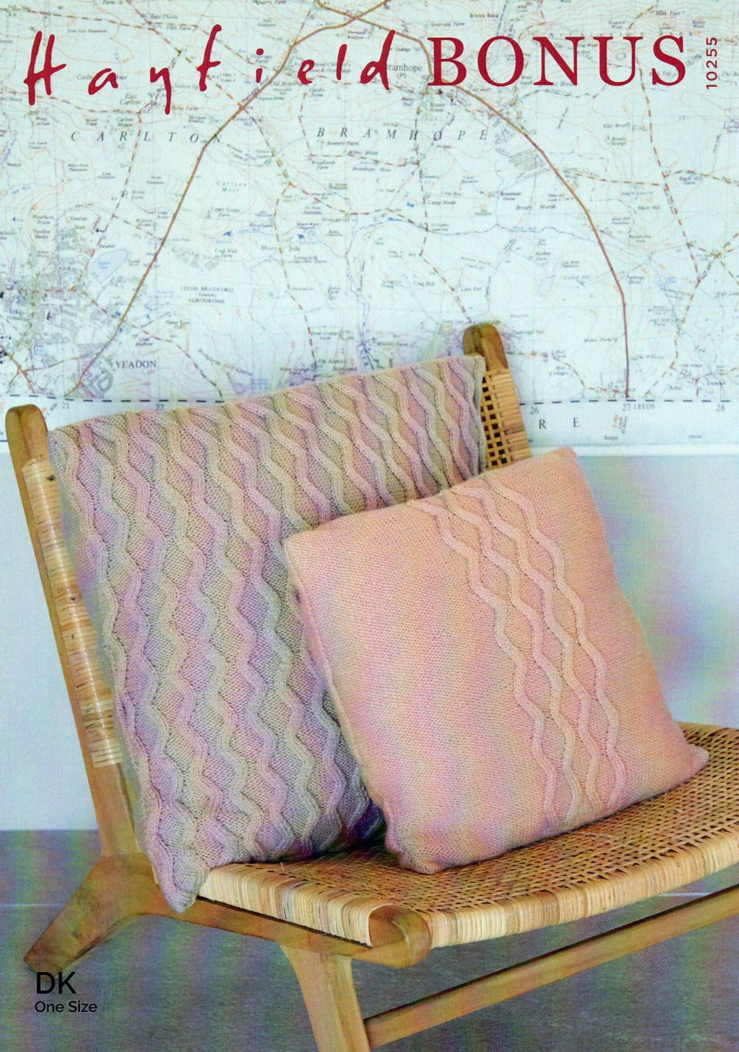 10255 - CUSHIONS BY HAYFIELD IN DOUBLE KNIT