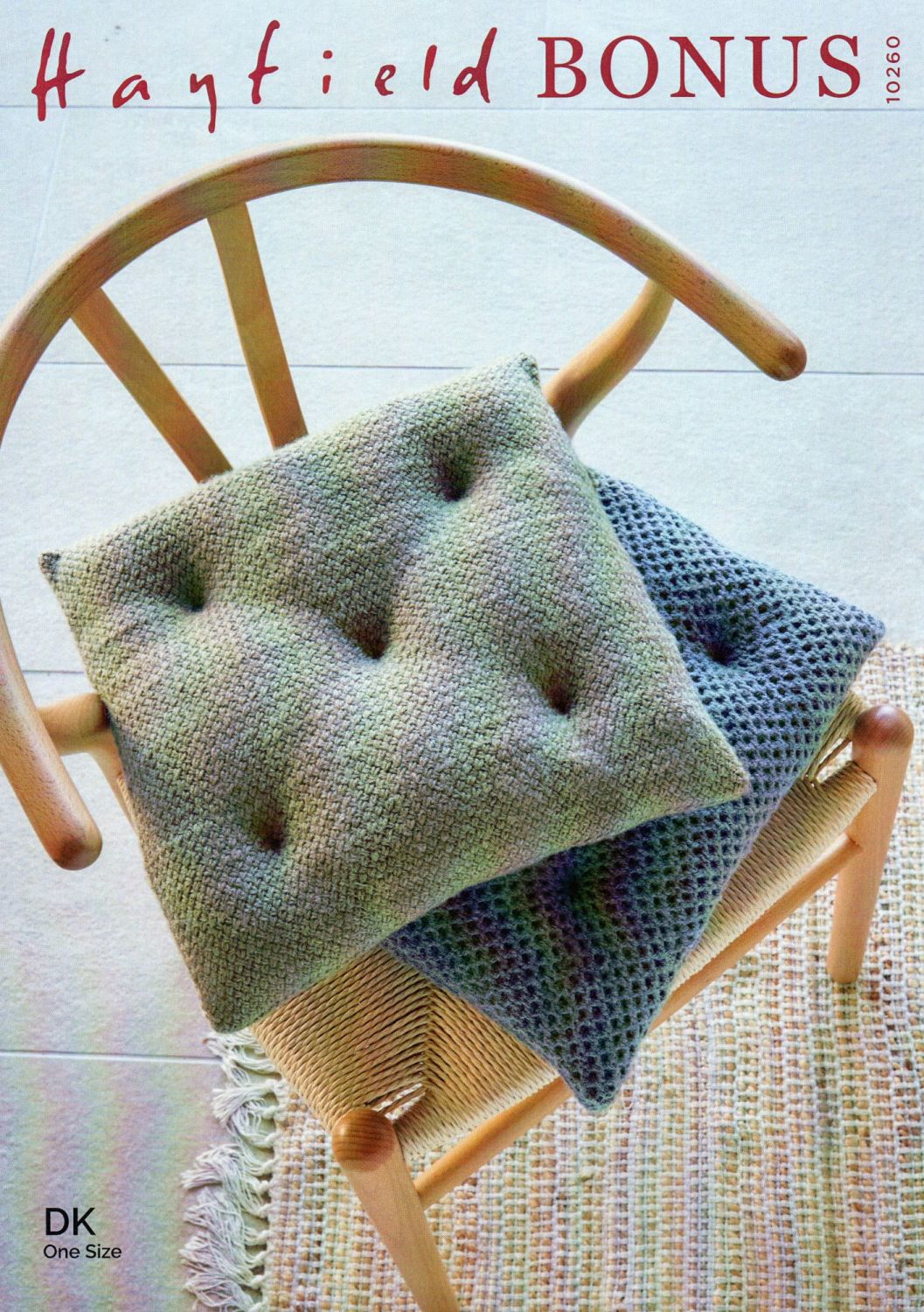 10260 - SEAT PADS BY HAYFIELD IN DOUBLE KNIT
