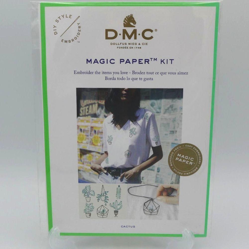 DMC MAGIC PAPER KIT- 'CACTUS'