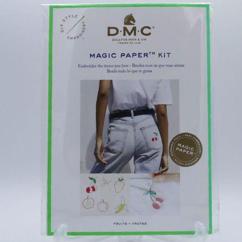 DMC MAGIC PAPER KIT- 'FRUITS'