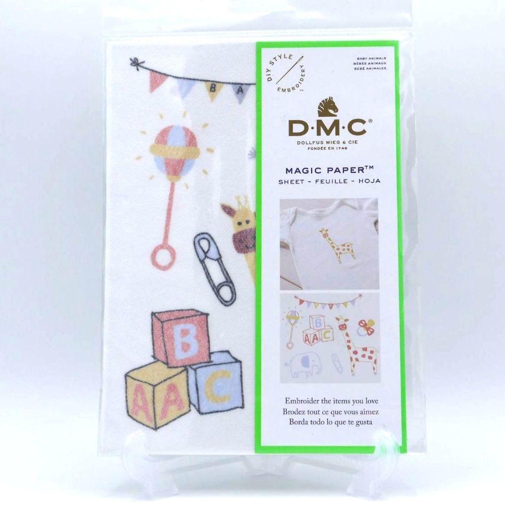 DMC MAGIC PAPER FOR BABY- 'BABY ANIMALS'