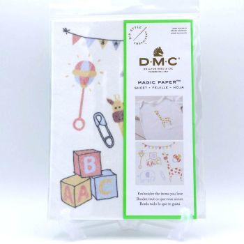 MAGIC PAPER - 'BABY ANIMALS' BY DMC