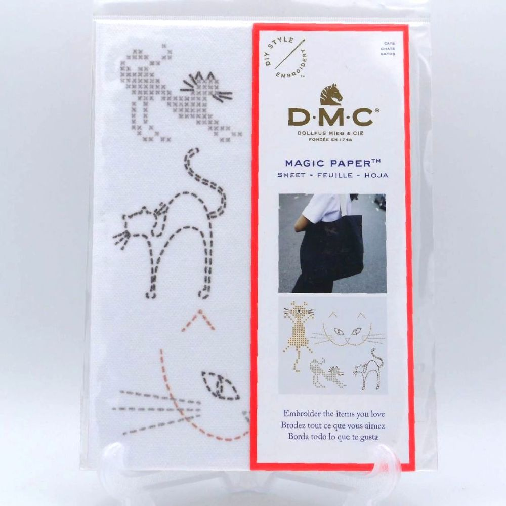 MAGIC PAPER - 'CATS' BY DMC