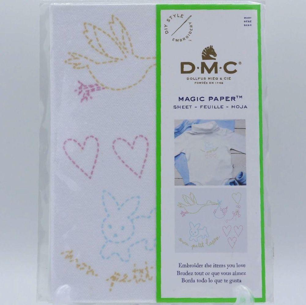MAGIC PAPER  -  BABY BY DMC