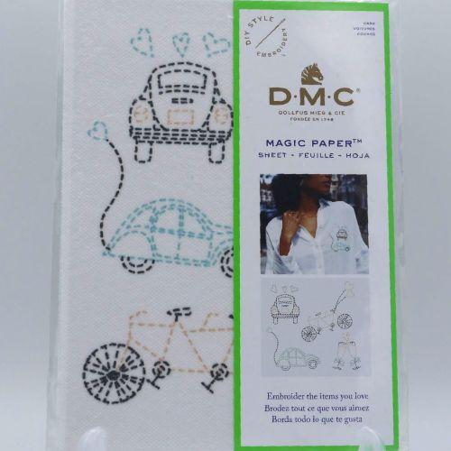 MAGIC PAPER - 'CARS' BY DMC
